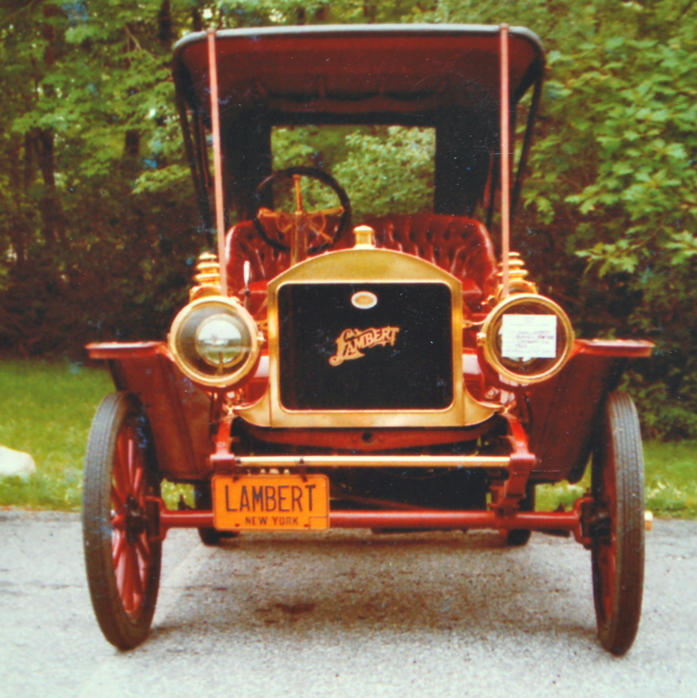 Proof JW Lambert Invented the Car | Carol Jean Lambert Books