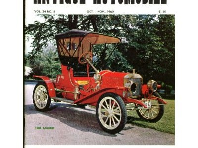 Antique Automobile, Vol.24 No.5, Oct./Nov., 1960
